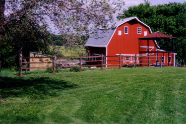 WinterStar Farm - barn after restoration